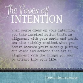 powerofintention
