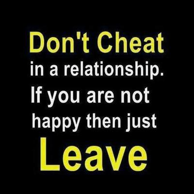dont cheat